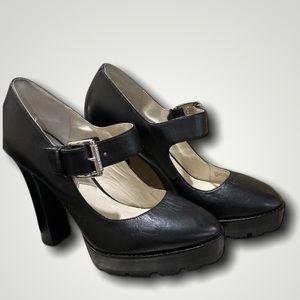 Michael Kors Leather Mary Jane Sz 8